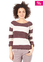 VILA Esther Knit Top winetasting