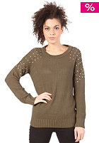 VILA Seku Knit Top ivy green