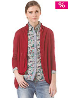 VILA Womens Agatha Knit Cardigan rumba red