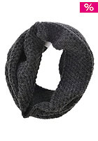 VILA Womens Anfu Knit Tube Scarf dark grey melange