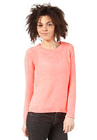 VILA Womens Anvar Knit Top neo coral
