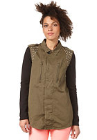 VILA Womens Ardell Jacket ivy green