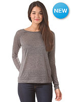 VILA Womens Cameo L/S Top medium grey melange