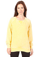 VILA Womens Canta Sweat super lemon