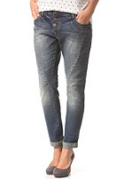 VILA Womens Cila Boyfriend Jeans dark blue denim