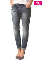 VILA Womens Cila Boyfriend Jeans dark blue denim