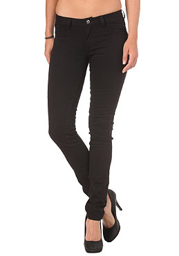 VILA Womens Cleave 5 Pocket Twill Pant black