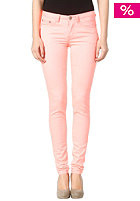 VILA Womens Cleavo Low 5 Pocket Neon Legging neo coral