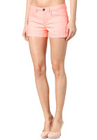 VILA Womens Cleavo Low 5 Pocket Neon Short neo coral