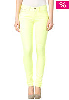 VILA Womens Cleavo Low 5 Pocket Neon Skinny Jeans safety yellow