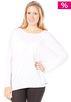VILA Womens Emerald L/S Oversize Top optical snow