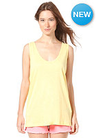 VILA Womens Emerald Tank Top yellow cream