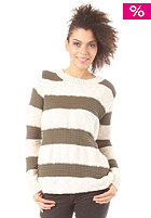 VILA Womens Emmely Knit Top ivy green
