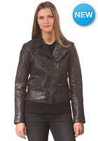 VILA Womens Epox Lthr Jacket black