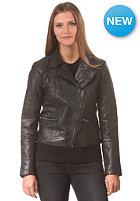 VILA Womens Epox Lthr Jacket black