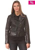 Womens Epox Lthr Jacket black