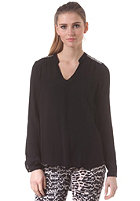 VILA Womens Fabricia Top black