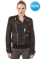 VILA Womens Favoris Biker Jacket black