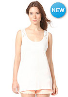 VILA Womens Femme Lace Tank Top white