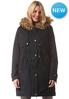 VILA Womens Frumpy Parka total eclipse