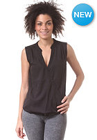 VILA Womens Gracious Wrap Top black