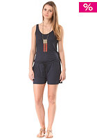 VILA Womens Gyrup Deep Back Playsuit Pant total eclipse