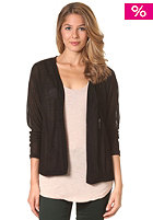 VILA Womens Hali Cardigan Knit Jacket black
