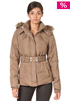 VILA Womens Joela Down Jacket caribou