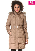VILA Womens Joela New 2 Down Coat caribou