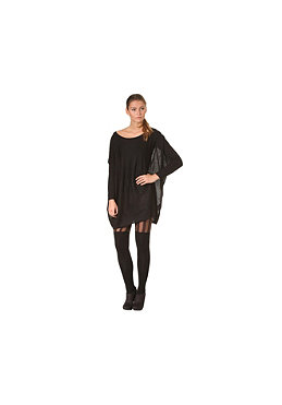 VILA Womens Kaktus Knit Top black