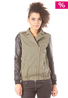 VILA Womens Karolina Jacket ivy green