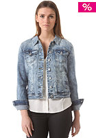 VILA Womens Killer Denim Jacket light blue denim