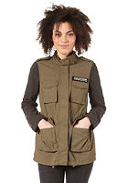 VILA Womens Landon Jacket ivy green