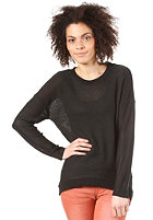 VILA Womens Lexi Knit Top black