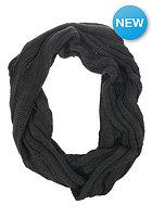 VILA Womens London Knit Scarf black