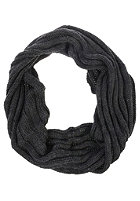 VILA Womens London Knit Scarf dark grey melange