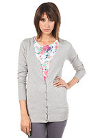 VILA Womens Long V-Neck Cardigan white