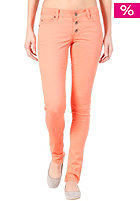 VILA Womens Lowe Superlow Slim Color Pant warm coral