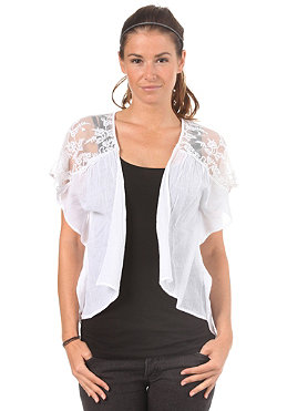 VILA Womens Med Lace Bolero white