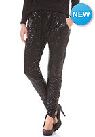 VILA Womens Nea Sequin Pant black
