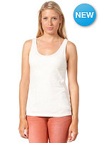 VILA Womens Nips Tank Top off white