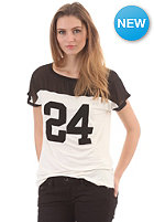 VILA Womens Numba S/S T-Shirt black/white