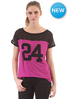 VILA Womens Numba S/S T-Shirt black/wild aster