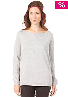 VILA Womens OBA Sweat light grey melange