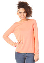 VILA Womens OBA Sweat neo coral