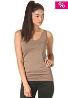 VILA Womens Official Tank Top caribou