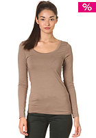 VILA Womens Officiel O-Neck Longsleeve caribou