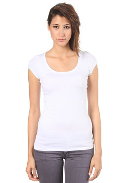 VILA Womens Officiel Top option snow