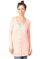 VILA Womens Renae Cardigan neo coral