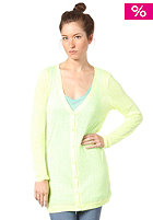 VILA Womens Renae Cardigan safety yellow